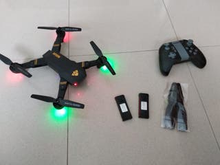 Dron VISUO + baterias y cargador