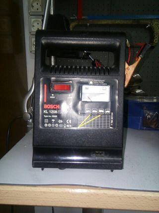 Cargador batería. 12v
