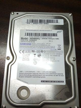 Disco duro 500gb sata 3.5' samsung