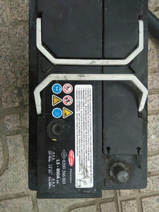 batería coche