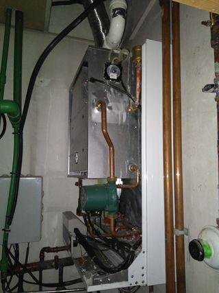 Instalación sistema calefacción
