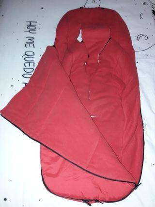 Saco Bugaboo rojo
