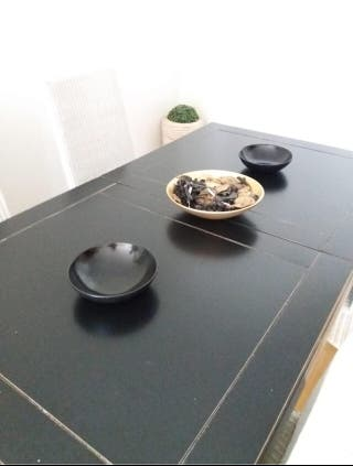 Sillas comedor y mesa