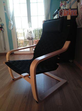 Mecedora Ikea.