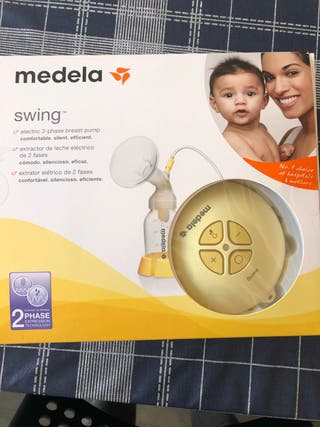 Sacaleches medela swing electrico