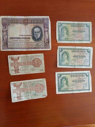 6 Billetes de la República