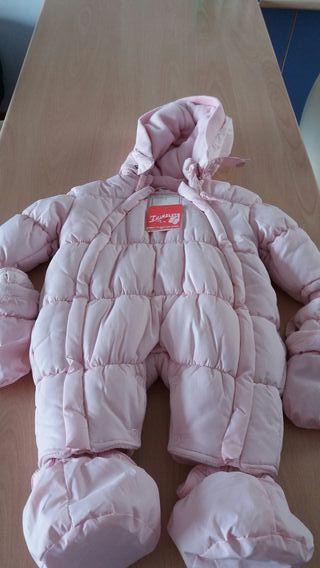 Saquito polar para bebe