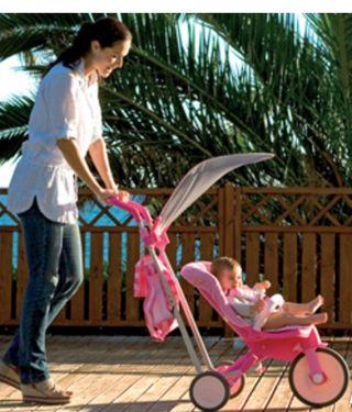la primera silla paseo q se convierte en triciclo