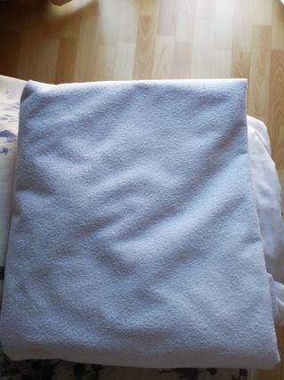 Funda impermeable cama de 90 cm.