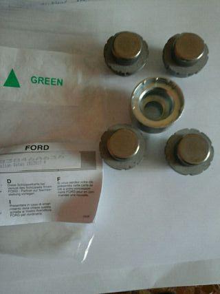 Tuercas antirrobo Ford