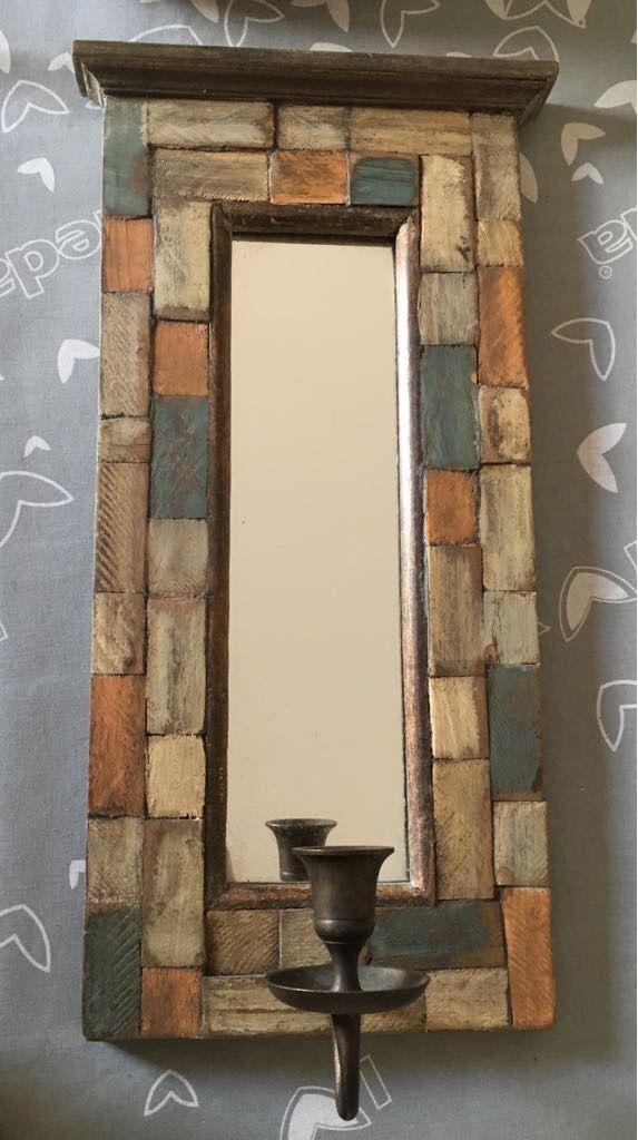 3 Marcos madera espejo decorativo de segunda mano por 20 € en Moaña ...