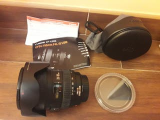 Objetivo Canon EF 24-105mm F/4 L IS USM