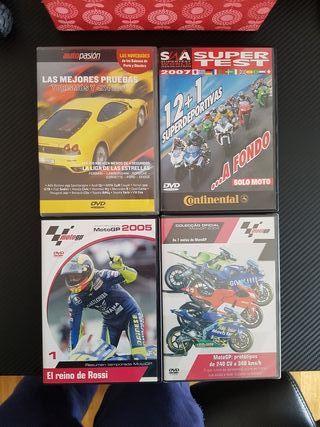 Videos Dvd Coches Motos