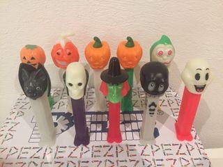 Dispensador caramelos PEZ. Halloween.
