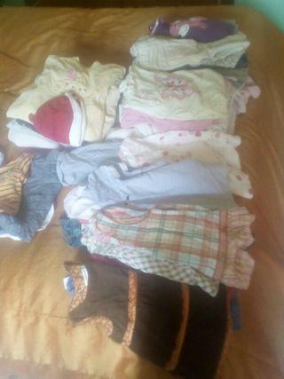 ropa bebé niña vestidos y pijamas