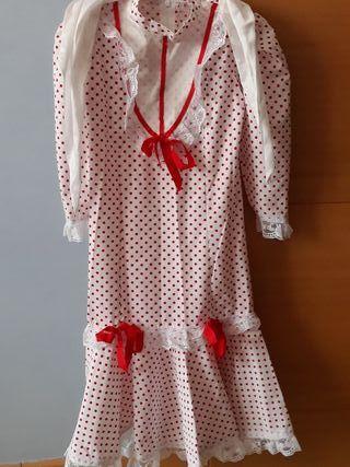 Vestido chulapa hasta 4 años