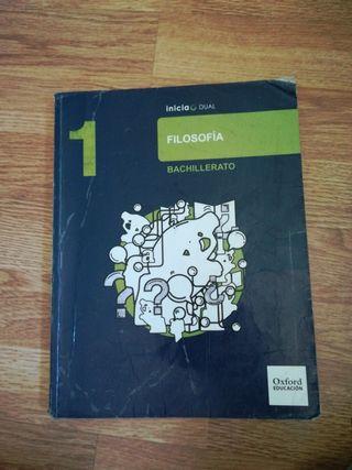 libro 1 bachiller, filosofía
