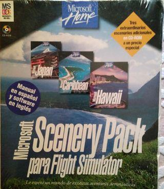 Microsoft Scenary Pack para Flight Simulator