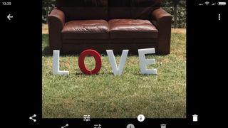 Letras LOVE de corcho especial para bodas...