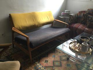Sofa escandinavo 2 plazas