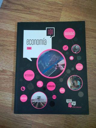 libros 1 bachiller, economía