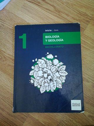 libro 1 bachiller, biología y geología