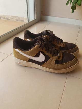 Nike Air Force brown edition