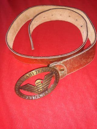 Cinturón Armani verdadero