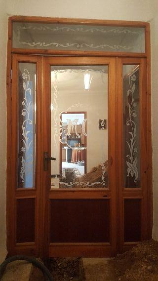 cancela puerta entrada interior