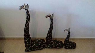 girafas de madera
