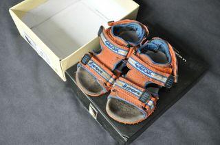 Sandalias GEOX color naranja número 22