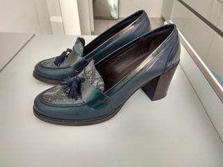 zapatos piel mallorquinos