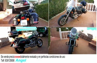 Moto Honda VF750 Magna