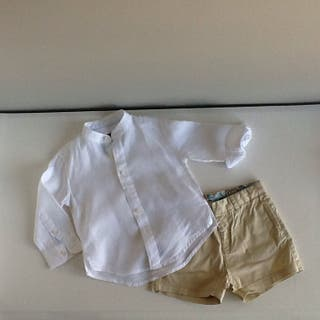 Camisa lino Tizzas 1-2 años