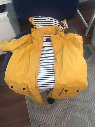 Chubasquero nautico amarillo