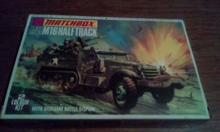 Matchbox M16 Halftrack