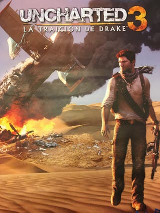 Póster Uncharted 3