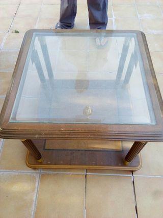 mesa adorno comedor de madera