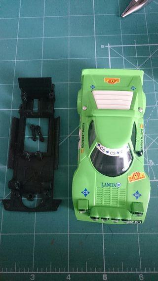Scalextric Lancia Stratos + 3D