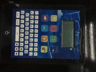 Tablet juguete con juegos