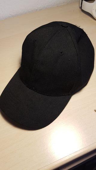 Gorra negra de segunda mano en Valencia en WALLAPOP 749d1f94c0e