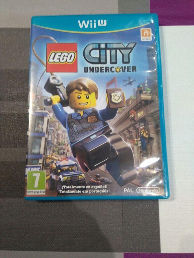 Wii U Juegos Lego City Undercover De Segunda Mano Por 10 En