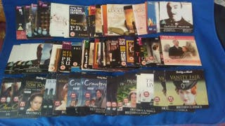 Lote de CD series y peliculas ....en ingles