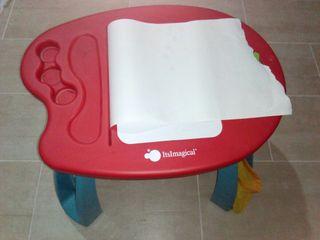 mesa infantil imaginarium con taburete