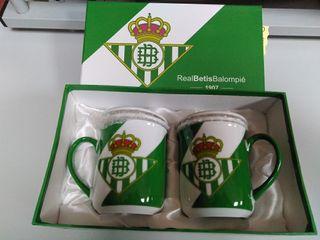 Tazas de té Real Betis Balompie