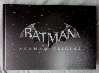 Batman Arkaham origins libro de arte