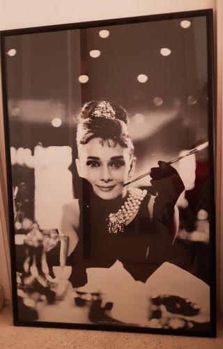 Cuadro de Audrey Hepburn