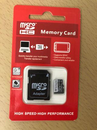 Tarjeta memoria 128 gb