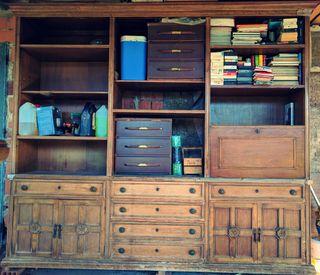 Armario de Salón vintage de madera