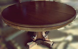 Mesa y sillas vintage